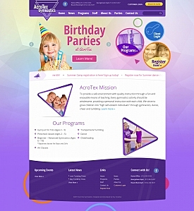 KeyCreative Blog Images for New Site for Acrotex Gymnastics