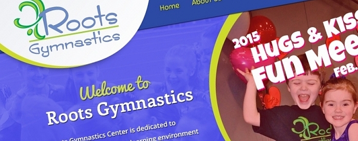 KeyCreative Blog Images for New Look for Roots Gymnastics