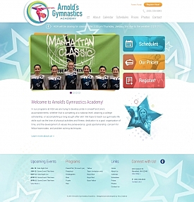 KeyCreative Blog Images for KeyCreative Launches Website Redesign for Arnold's Gymnastics Academy