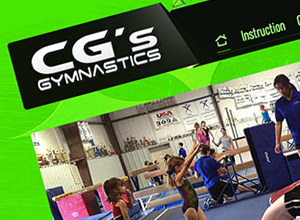 Image of C.G.'s Gymnastics Inc site