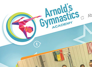 Image of Arnolds Gymnastics site
