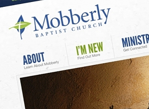 Image of Mobberly Baptist Church site