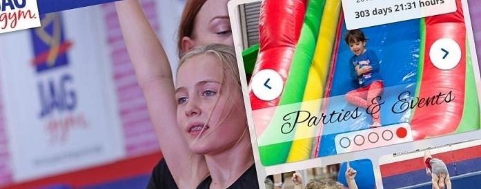 KeyCreative Blog Images for JAG Gym's Website Gets a Makeover!