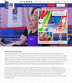 KeyCreative Blog Images for JAG Gym's Website Gets a Makeover!