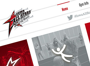 Image of Iowa All Stars Cheer & Tumble site