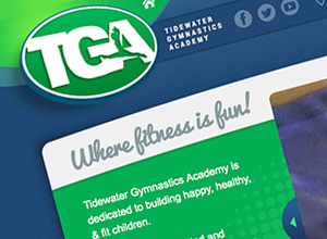 Image of Tidewater Gymnastics Academy site